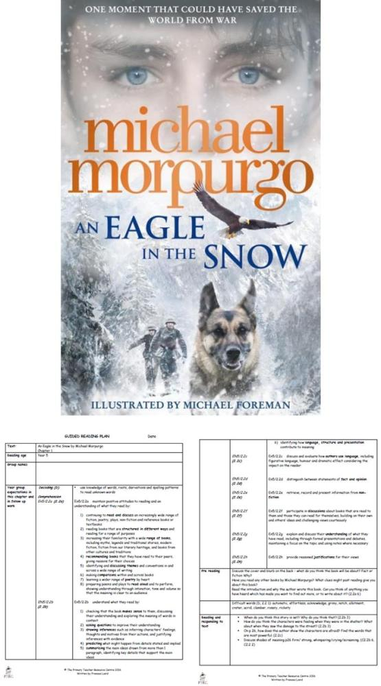 An Eagle in the Snow Guided Reading Plans