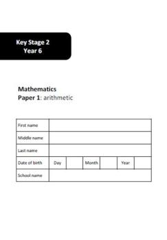 SATs Arithmetic and Reasoning Practice Test Papers