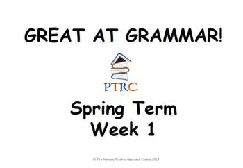 Year 3/4 Great at Grammar - Spring Term Pack