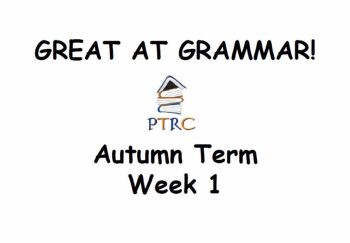 Year 5/6 Great at Grammar - Autumn Term Pack