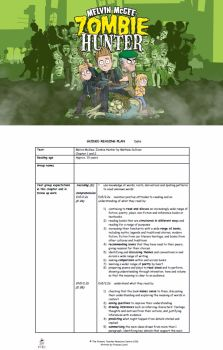 The Zombie Hunter Guided Reading Plans