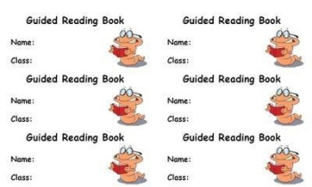 Guided Reading Book Label