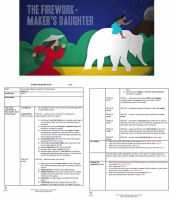 The Firework Maker's Daughter Guided Reading Plans