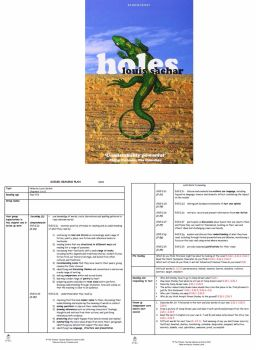 Holes Guided Reading Plans
