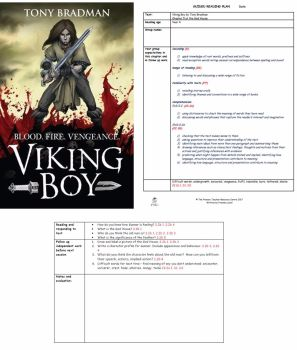 Viking Boy Guided Reading Plans