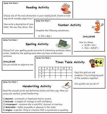 Year 5/6 Back 2 Basics Weekly Activities - Spring Term Pack