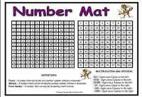 Number Resource Mat