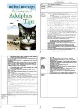 Adolphus Tips Guided Reading Plans