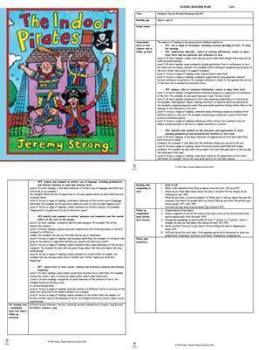 Indoor Pirates Guided Reading Plans