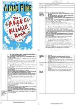 The Angel of Nitshill Road Guided Reading Plans