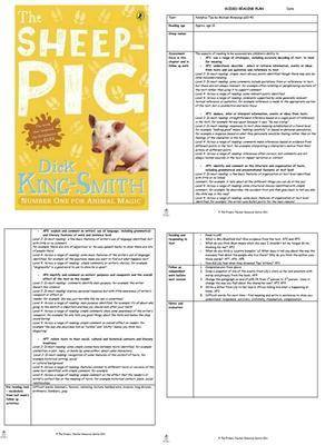 The Sheep Pig Guided Reading Plans