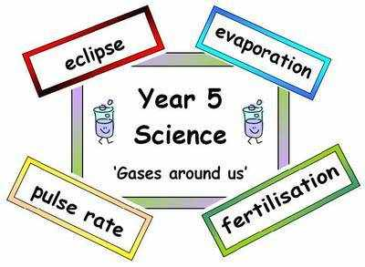 Year 5 Primary Science Vocabulary