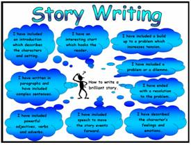 Story Writing Success Criteria Poster