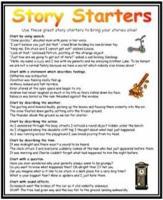 Story Starters Mat