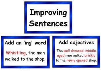 Improving Sentences Display Pack