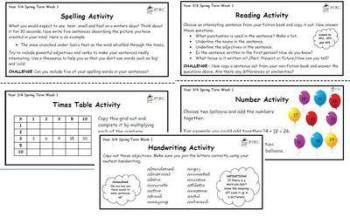 Year 3/4 Back 2 Basics Weekly Activities - Summer Term Pack