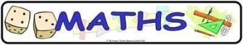 Maths Display Banner