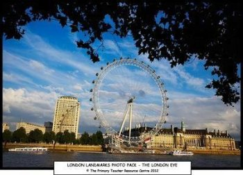 London Landmarks Photo Display Pack