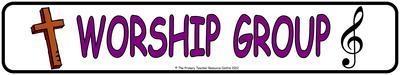 Worship Group Display Banner