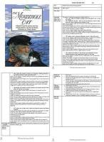 The Mousehole Cat Guided Reading Plans