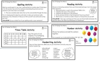 Year 3/4 Back 2 Basics Weekly Activities - Autumn Term Pack