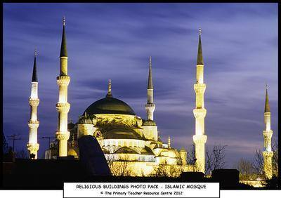 Religious Buildings Photo Display Pack