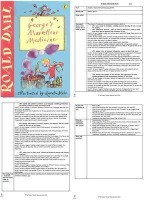 George's Marvellous Medicine Guided Reading Plans