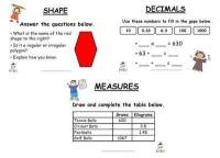 Year 5/6 Magic at Maths - Spring Term Pack
