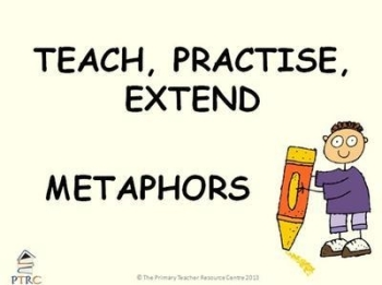 Metaphors Powerpoint - Teach, Practise, Extend