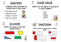 Year 3/4 Magic at Maths - Spring Term Pack