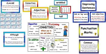 Literacy Display Poster BUMPER PACK
