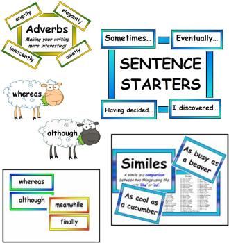 Literacy Vocabulary BUMPER PACK