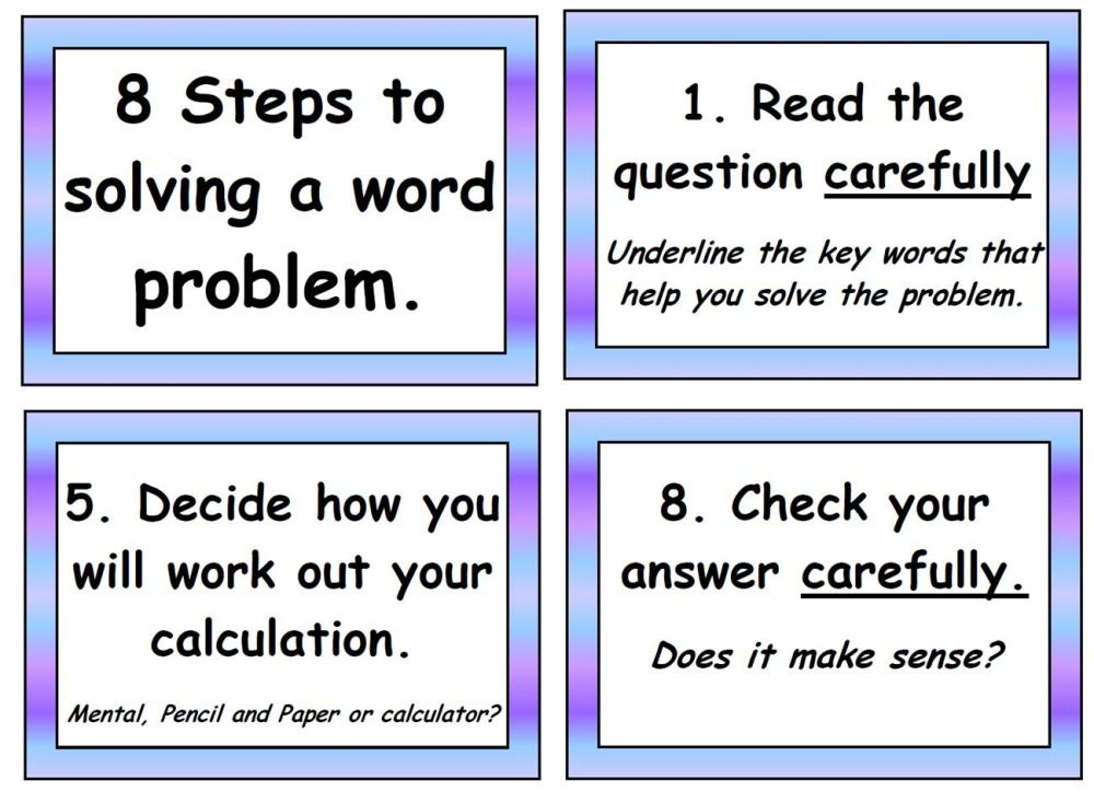 solving math problems with steps - Dorit.mercatodos.co