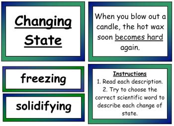 Changing State Interactive Science Display