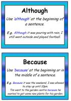 Complex Sentences Poster Pack