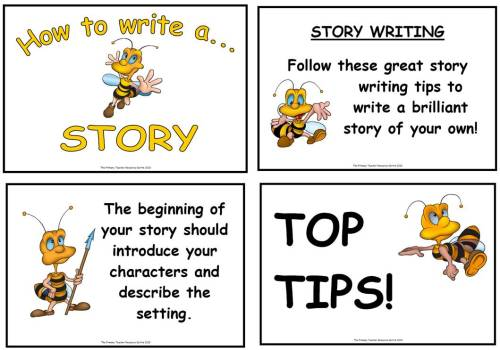 How to Write a Story Using a Picture