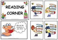 Reading Corner Display Posters