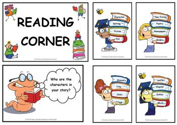 Reading Corner Display Posters