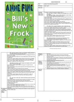 Bill's New Frock Guided Reading Plans