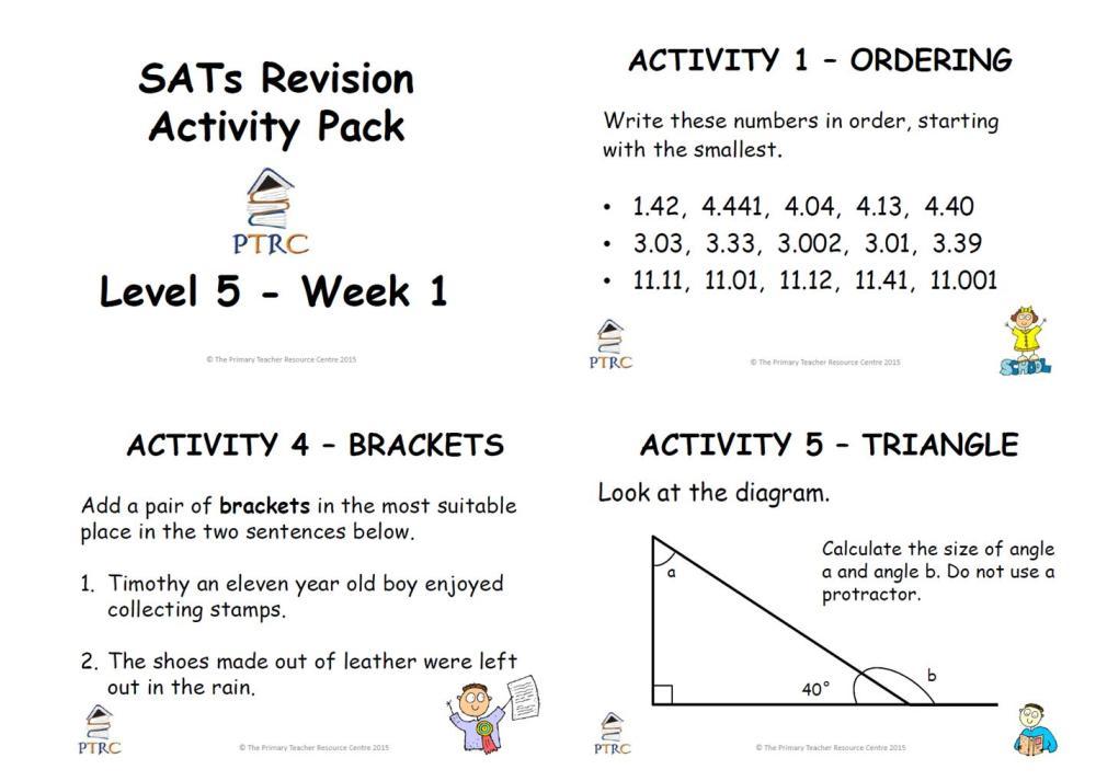 year 6 maths sats revision worksheets Brandonbriceus – Year 6 Maths Sats Revision Worksheets