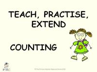 Counting in Multiples Powerpoint - Teach, Practise, Extend