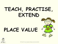 Place Value Powerpoint - Teach, Practise, Extend