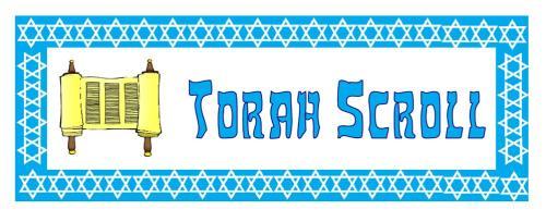 Jewish Artefacts Vocabulary Cards