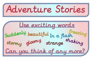 Adventure Story Display Pack