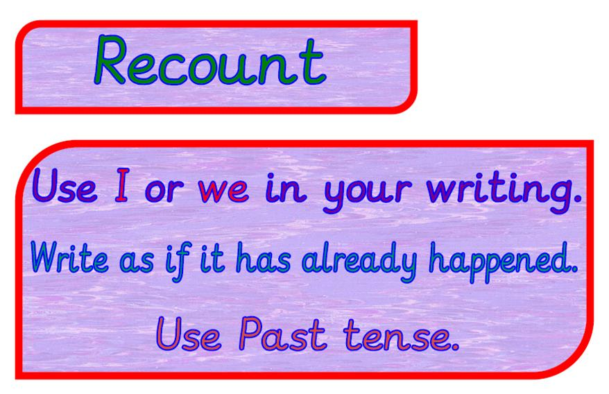 definition of recount text pdf