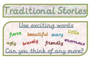 Traditional Stories Display Pack