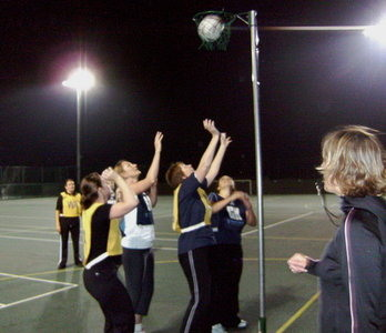 Netball Training Pic 1