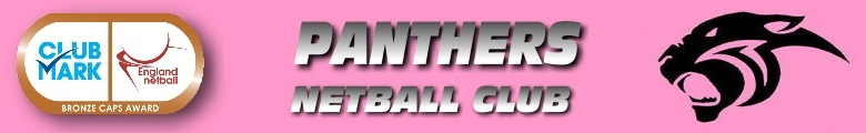 Panthers Netball Club, site logo.