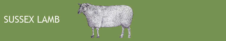 sussexlamb.co.uk, site logo.