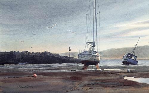 RP041 Sunrise, New Quay